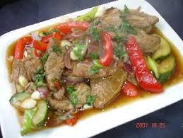 recette cuisine wok recette wok de boeuf piquant aux courgettes 750g