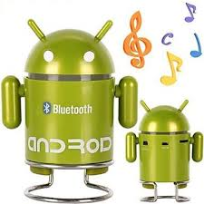 android bluetooth speaker android robot appearance mic wireless bluetooth speaker radio fm