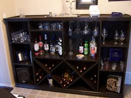 wine cabinets for home wine cabinets and bars new rack bar plans home design inside 4