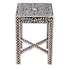 debenhams bone inlay u0027ankara u0027 side table debenhams