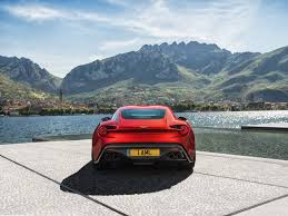 aston martin zagato black wallpaper aston martin vanquish zagato 2017 cars rear view