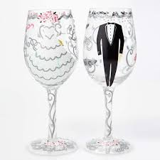 wine glass gift groom set designs by