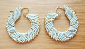 earrings diy macrame swirl earrings how did you make this luxe diy