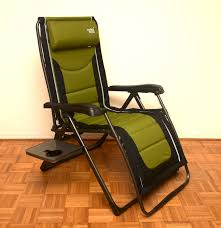 timber ridge folding reclining outdoor chair ebth