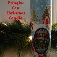 pringles can christmas candle