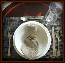 Elegant Table Settings by On A Tight Budget Elegant Table Setting For Less Mylaupshaw Com