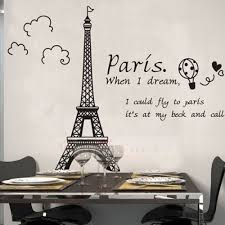 Eiffel Tower Wallpaper For Walls Paris Eiffel Tower Wall Sticker