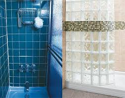 Bathtub Replacement Shower Bath Tub Replacement In St Louis Custom Glass Block Shower Kit