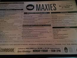 Maxie Southern Comfort Maxie U0027s Menu A Taste Of Nawlins Picture Of Maxie U0027s Milwaukee