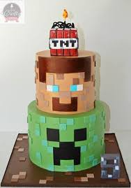 56 minecraft cakes images minecraft party