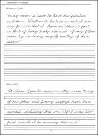 presidents sheets 44 united states presidents character writing