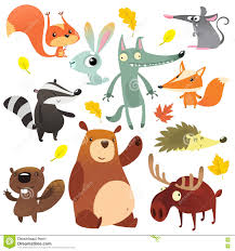 World Map For Kids Cartoon Animal World Map For Children And Kids Animals From All