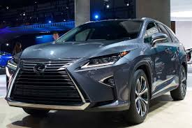 lexus rx blue 2017 lexus rx gains third row additional safety at la motoring research