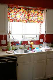 Bright Colorful Kitchen Curtains Inspiration Colorful Kitchen Curtains Kitchen Design