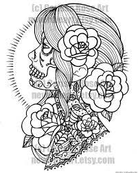 the 25 best sugar skull tattoo ideas on pinterest sugar