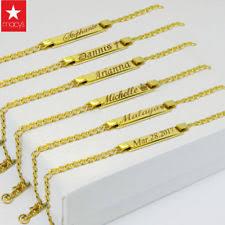 Baby Name Bracelet Silver Baby Name Bracelet Ebay
