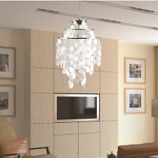 Mother Of Pearl Pendant Light by Pearl Hanging Chandelier