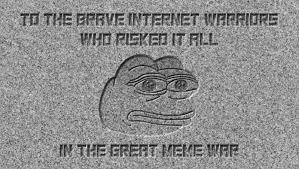 Meme War Pictures - president trump unveils meme war memorial