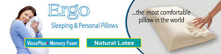 Most Comfortable Pillow In The World Ergo Advanced Sleeping Pillows By Healthguard