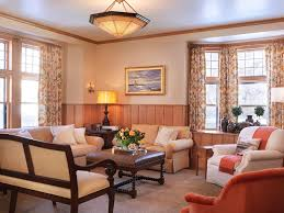 Chair Rail Ideas For Living Room Craftsman Living Room With Crown Molding By S H Construction