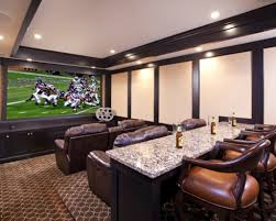 theater room seating burgundy color scheme home cinema room