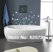 free shipping waterproof bathroom tile stickers 50 soap bubbles