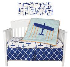 total fab blue and orange nursery crib sets u0026 bedding for baby