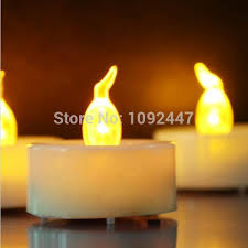 mini electronic candles 3 6 3 6cm small candles decor led candel