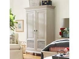 paula deen home bungalow white wardrobe armoire pdh795160 paula deen home bungalow white wardrobe armoire