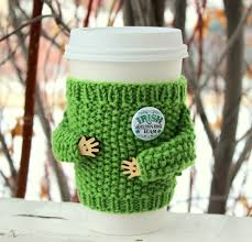 st patrick u0027s day coffee cozy travel mug sleeve irish