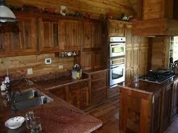 rustic barn wood kitchen cabinets barnwood kitchen cabinets
