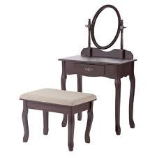 Makeup Vanity Seat Cherry Vanities And Makeup Tables Ebay