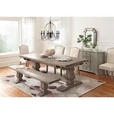 aldridge antique grey extendable dining table home decorators collection aldridge washed black extendable dining