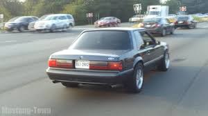 Black Fox Body Mustang Nasty Notchback Foxbody 5 0 Mustang