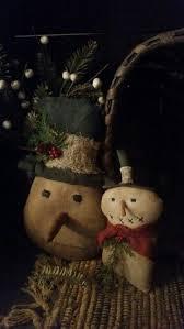 803 best primitive snowmen images on