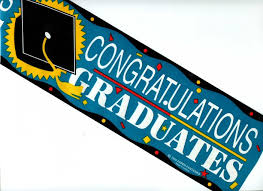 congratulations graduation banner congratulations graduates banner sold by the message