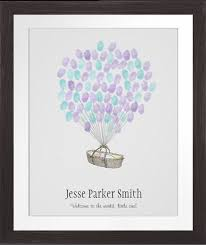 baby shower fingerprint tree nothing mundane baby shower fingerprint balloon guestbook