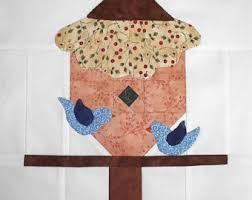 birdhouse quilt pattern birdhouse quilt pattern etsy