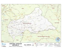 Republic Of Congo Map Maps Of Central African Republic Detailed Map Of Central African