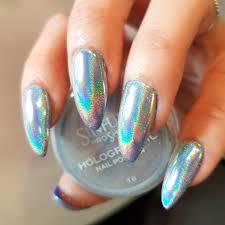 holographic effect powder sinful nails uk professional nail polish