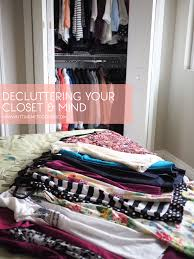 the art of decluttering my latest closet clean out putting me