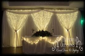 wedding backdrop fairy lights alexandrea occasions wedding venue decoration and styling based