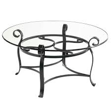round glass top coffee table wrought iron coffee tables thippo