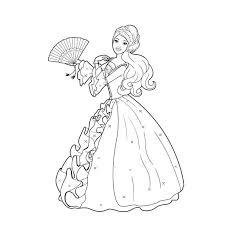 31 dessins de coloriage Barbie Sirène à imprimer