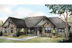ranch homes with stone on front ranch house plan manor heart