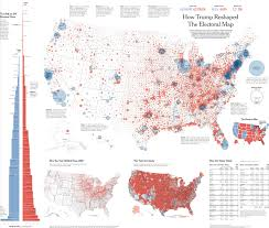 Nytimes Election Map by Mapping Typography And Storytelling The Type Directors Club