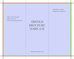 free tri fold brochure template free tri fold brochure template template business