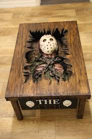 jason voorhees coffee table you can buy a custom friday the 13th coffee table ign