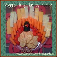 ideas for thanksgiving veggie tray turkey