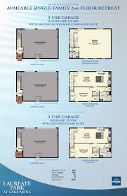 3 Car Garage With Apartment Floor Plans Laureate Park At Lake Nona Mansfield New Homes In Orlando Minto